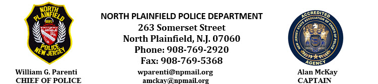 North Plainfield Police Department, NJ Police Jobs