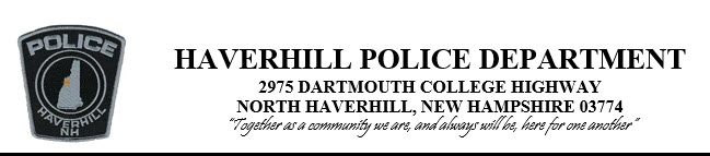Haverhill Police Department, NH Police Jobs