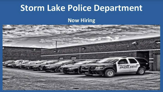 Storm Lake Police Department, IA Police Jobs