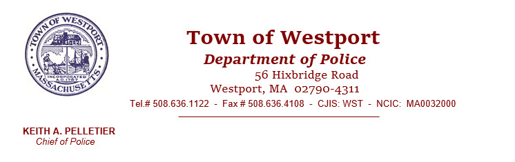 Westport Police Department, MA Police Jobs