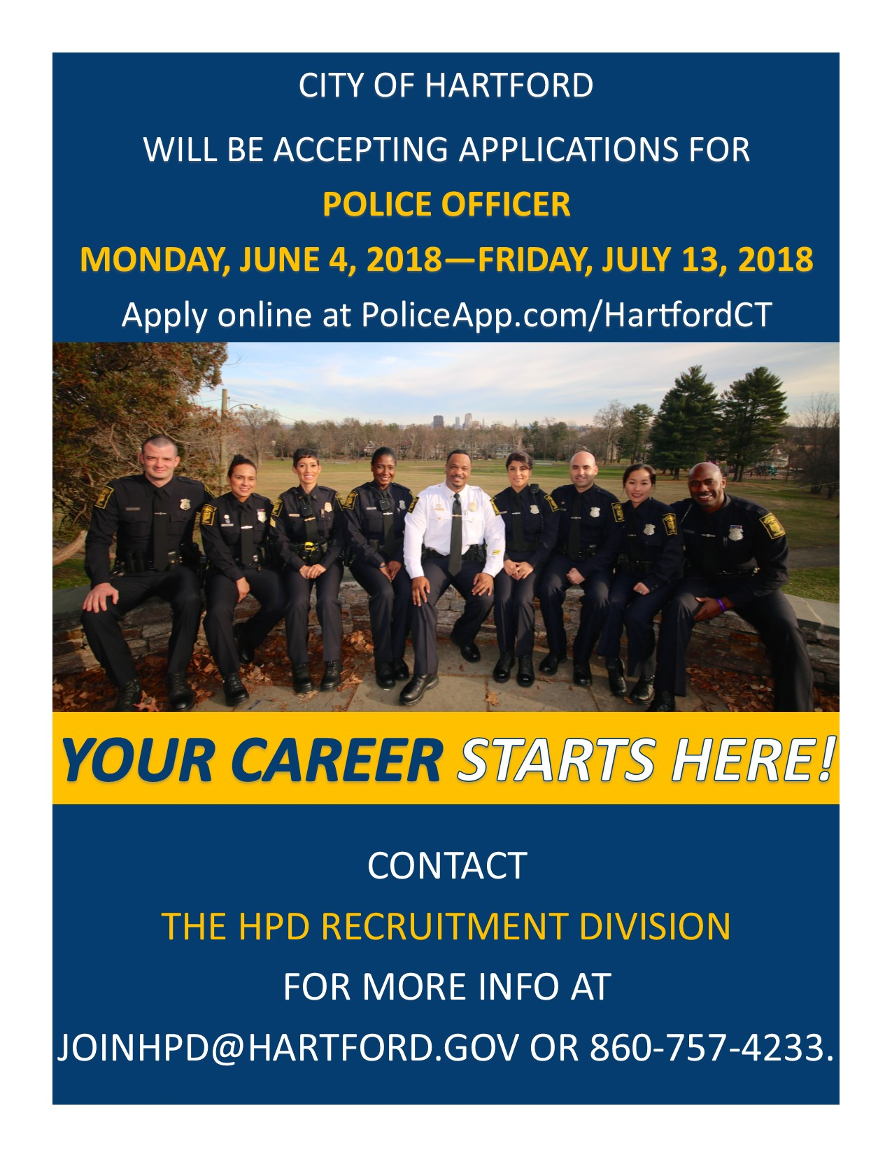 Police Officer Recruiting Promo 2018