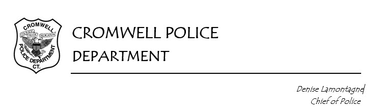 Cromwell Police Department, CT Police Jobs