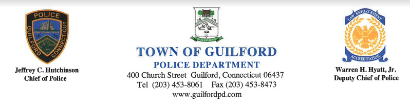 Guilford Police Department, CT Police Jobs
