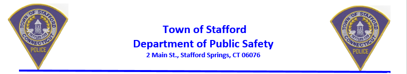 Stafford Police Department, CT Police Jobs