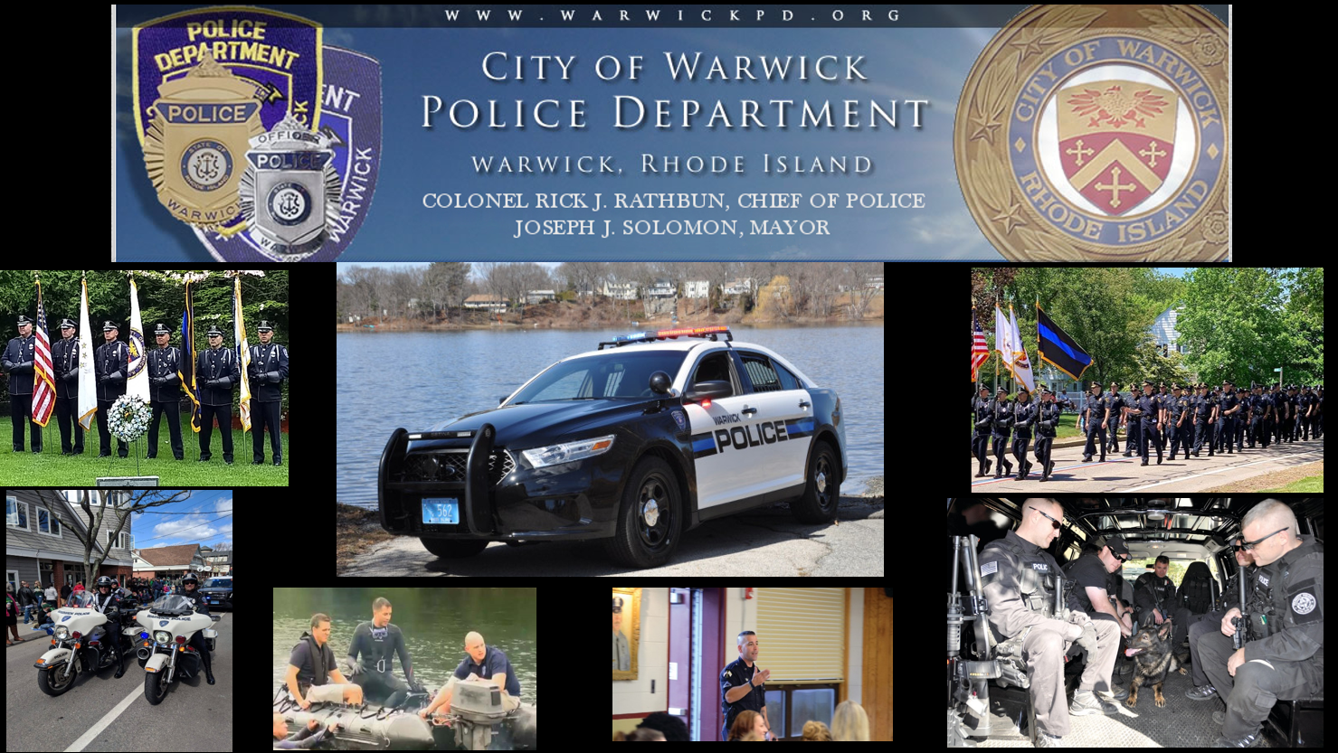 Warwick, RI Police Jobs - Entry Level | PoliceApp