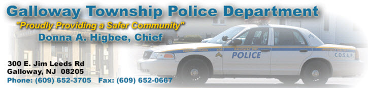 Galloway Township, NJ Police Jobs