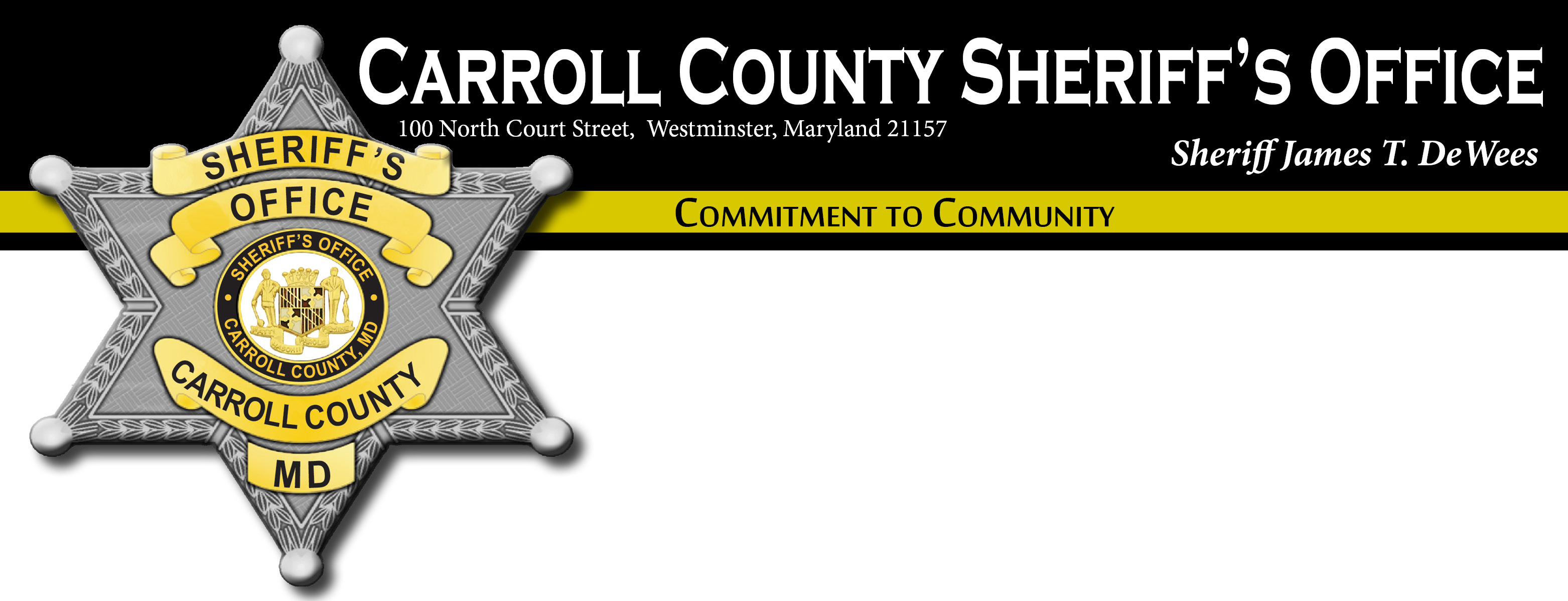 Carroll County Sheriffs Office, MD Police Jobs