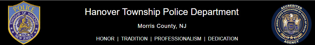 Hanover Township Police Department, NJ Police Jobs