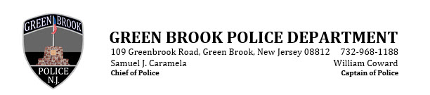 Green Brook Police Department, NJ Police Jobs