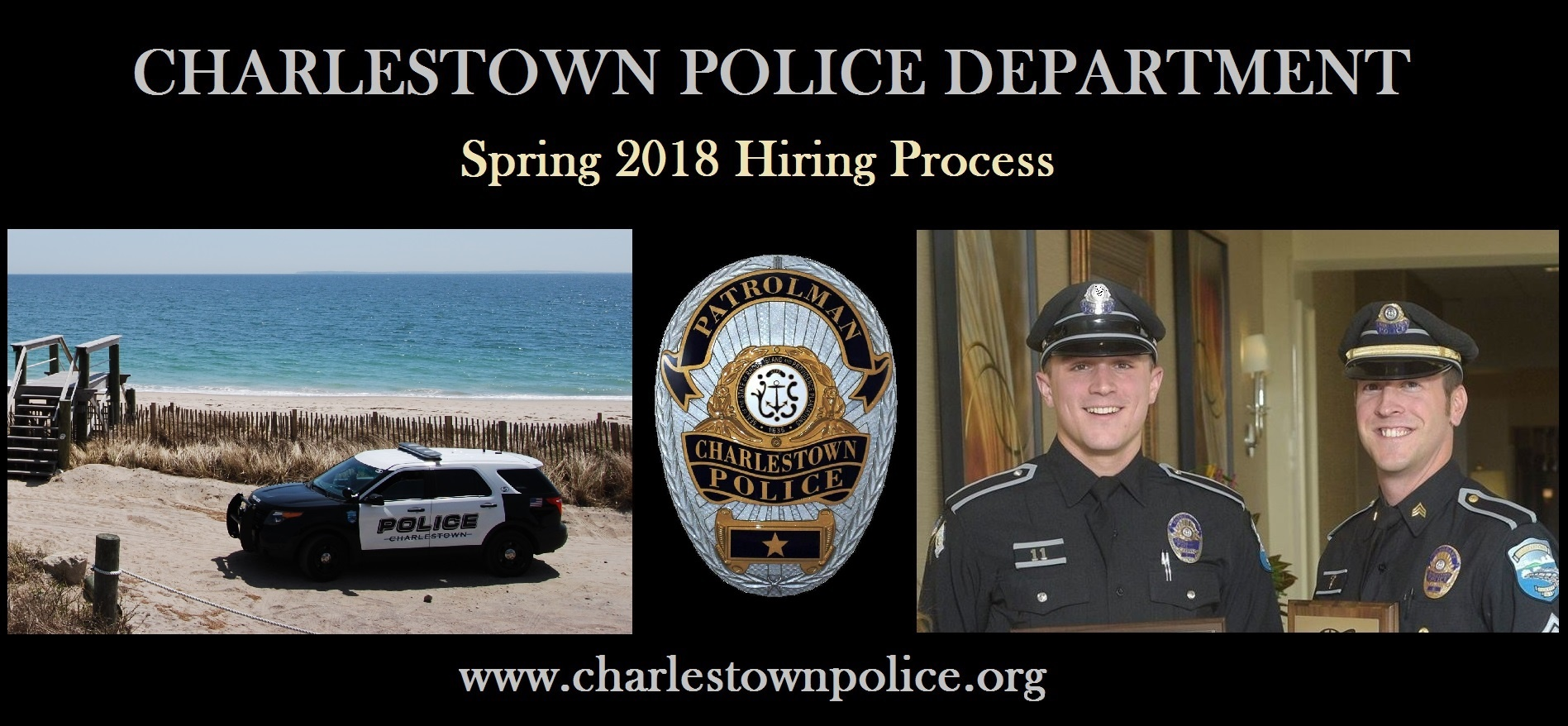 Charlestown, RI Police Jobs