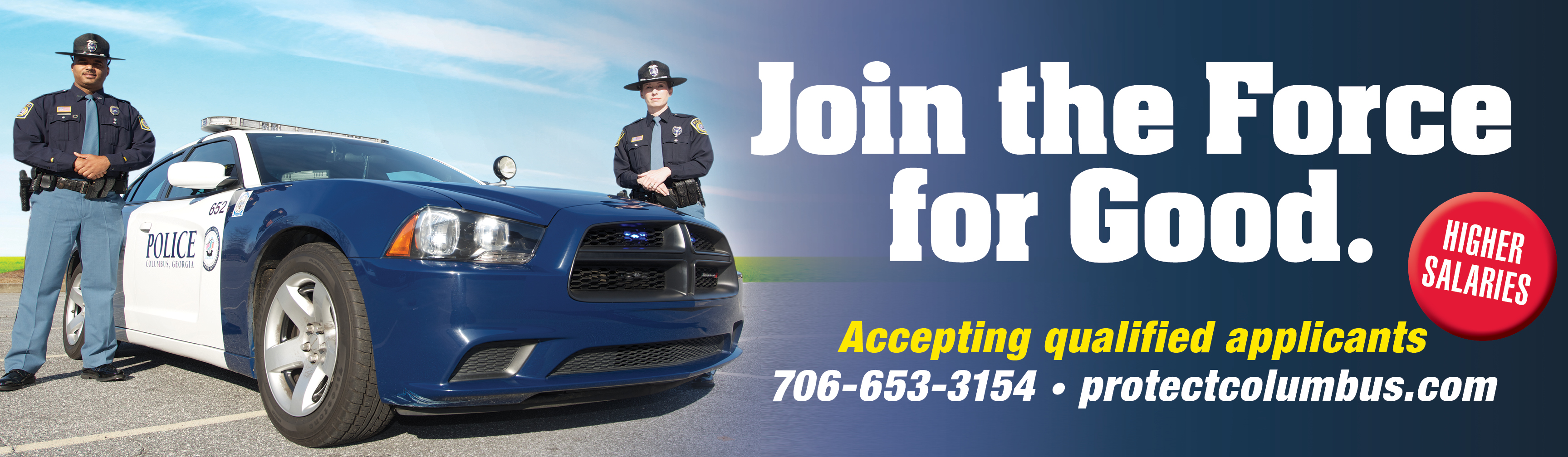 Columbus Police Department, GA Police Jobs