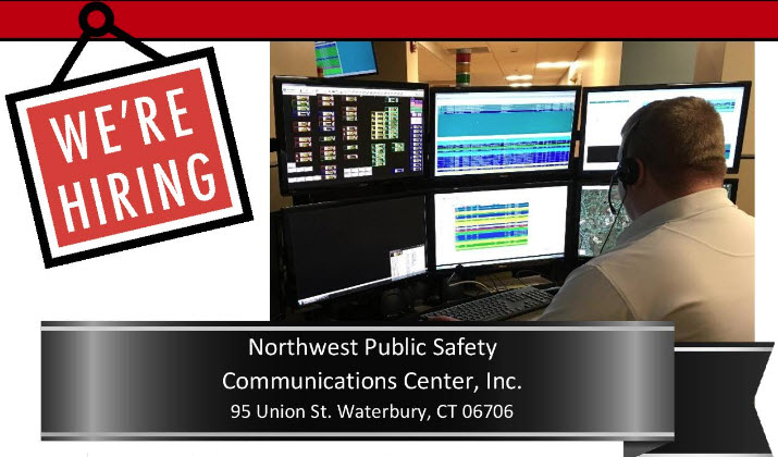 Northwest CT Public Safety Communication Center, Inc., CT Police Jobs