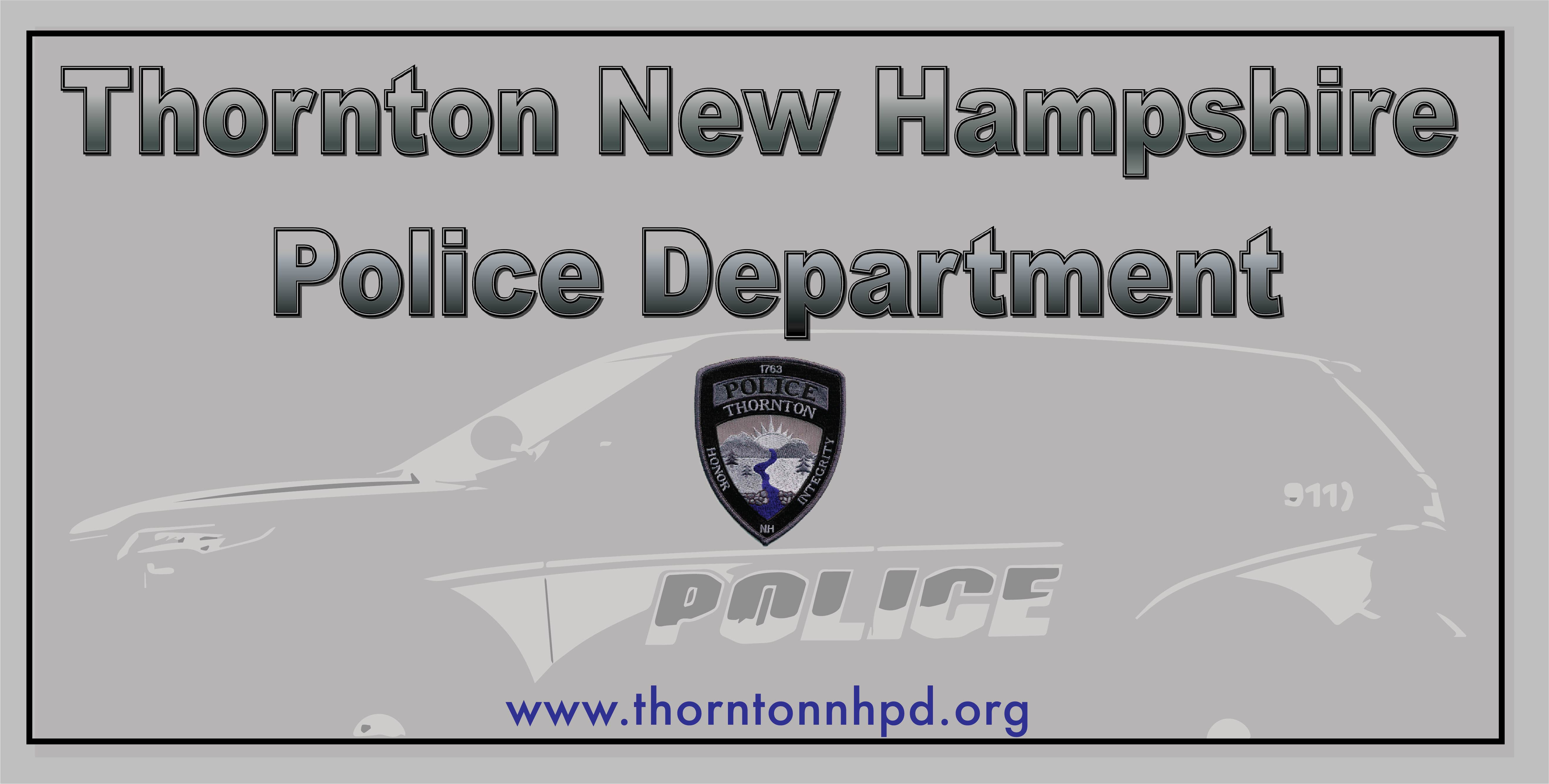 Thornton nh police jobs entry level certified policeapp for General motors criminal background check