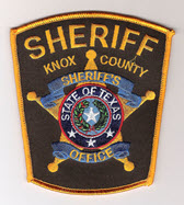 Knox County Sheriff's Office, TX Police Jobs