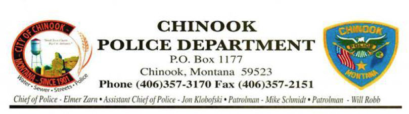 Chinook, MT Police Jobs