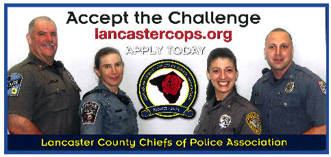Lancaster County Chiefs of Police, PA Police Jobs