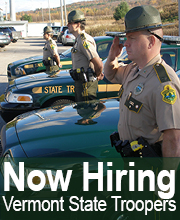 Vermont State Police, VT Police Jobs - Entry Level | PoliceApp
